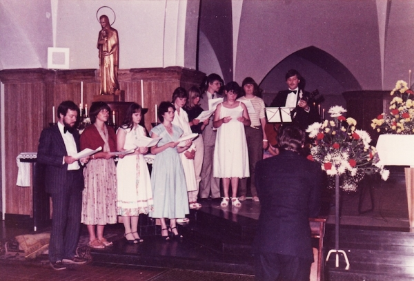 De eerste uitvoering van Thirdwing in 1981
