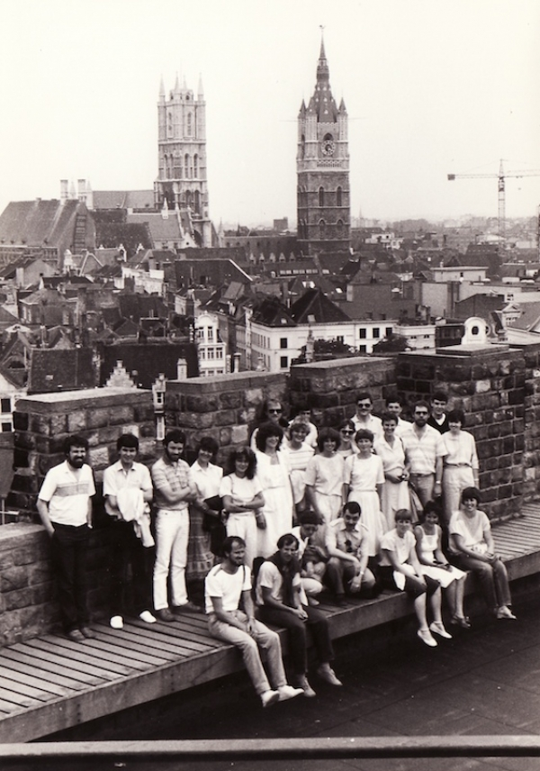 Thirdwing in Gent circa 1983
