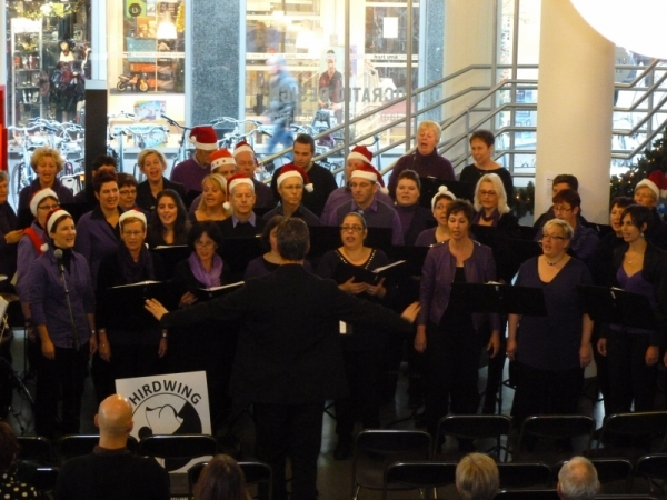 Kerstconcert Thirdwing in SCHUNCK Glaspaleis