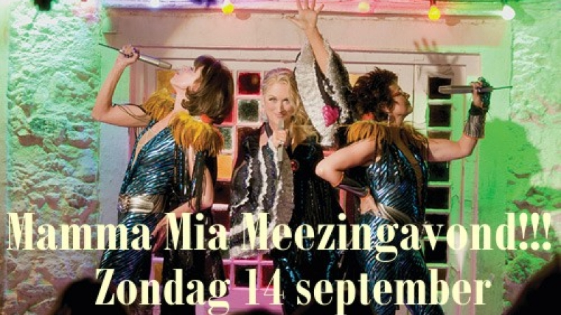 Mamma Mia Meezingavond